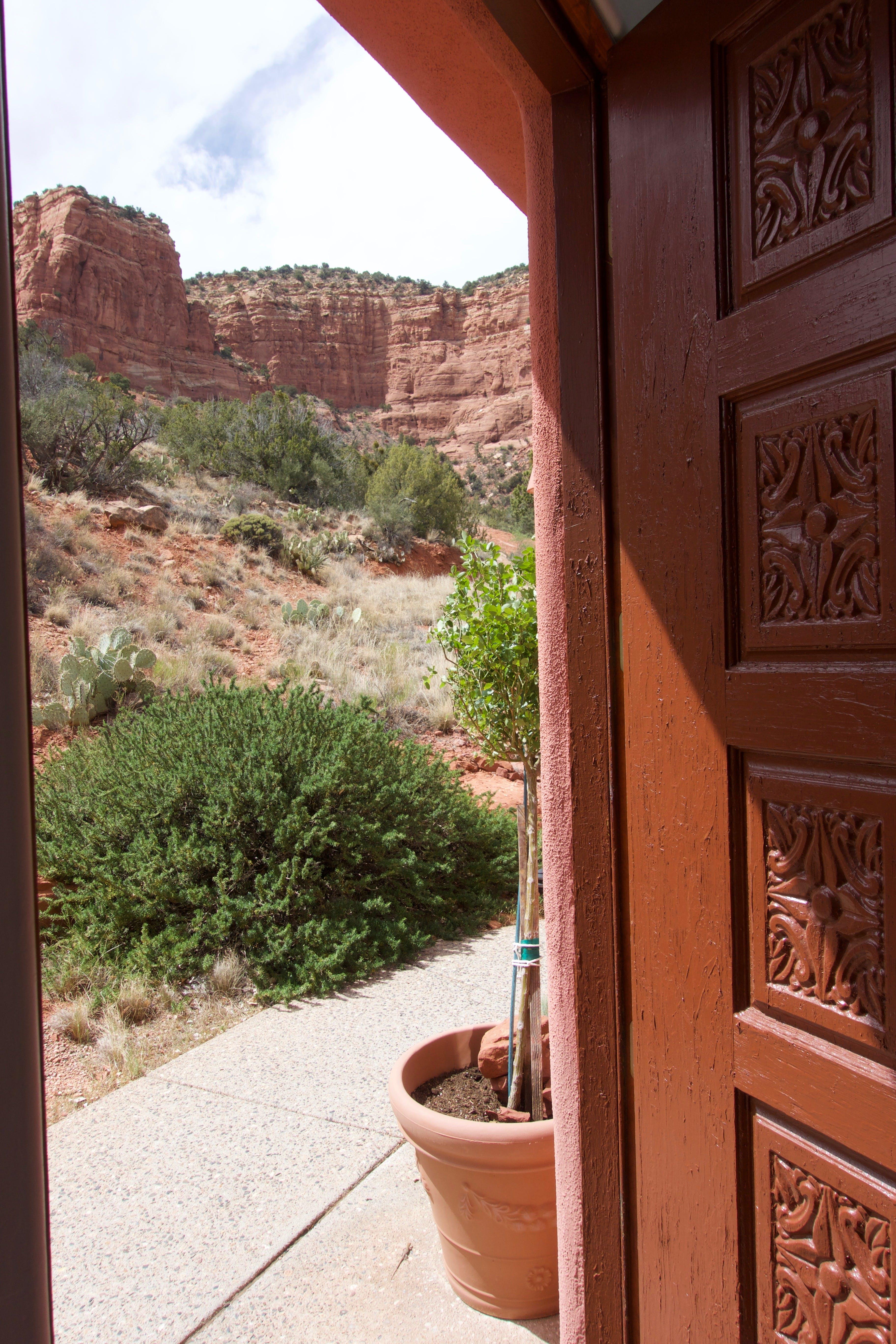 Free stock photo of desert, dimension, door, doorway