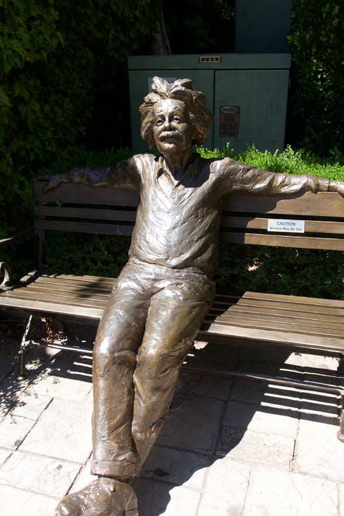 Gratis lagerfoto af einstein, geni, statue