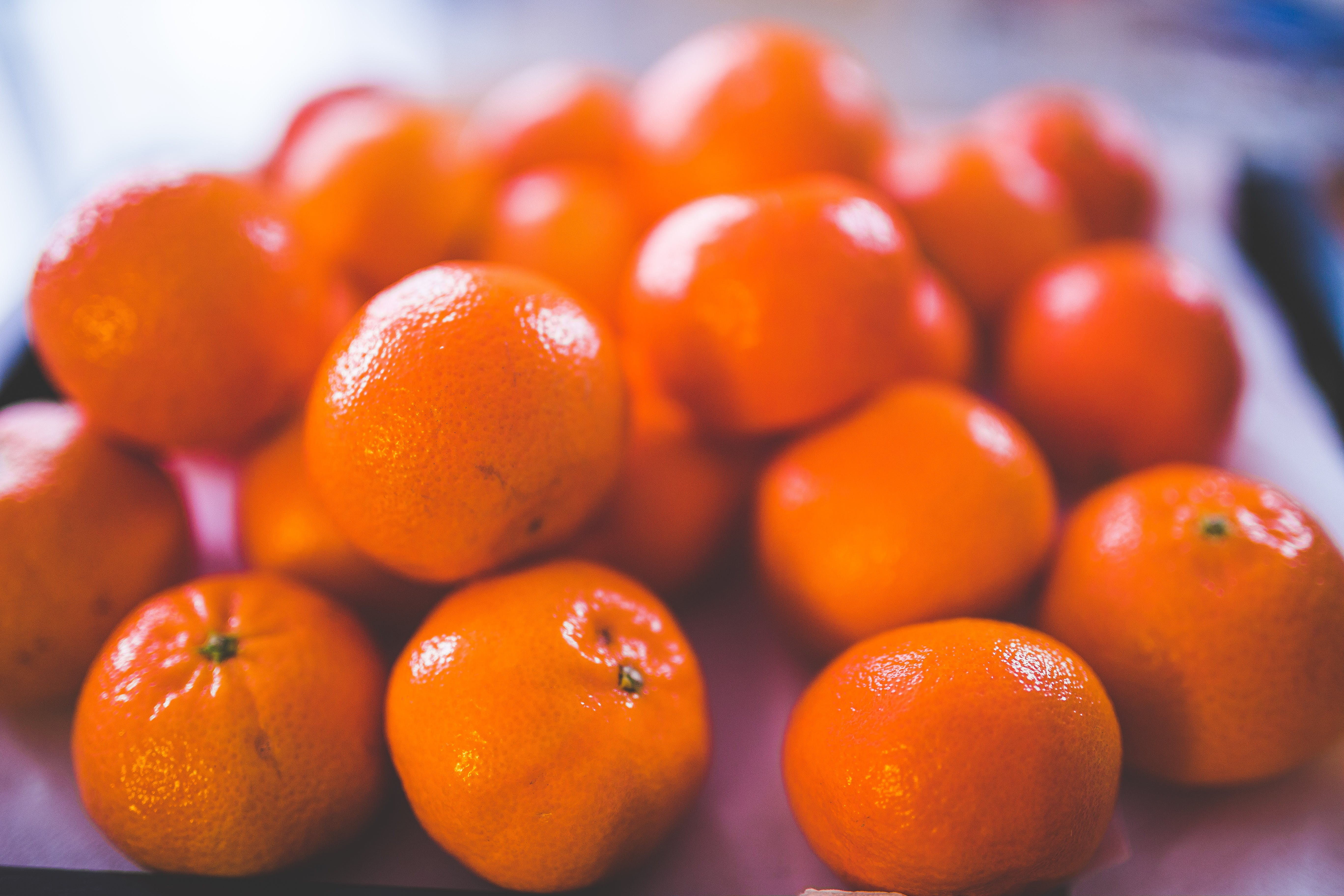 Shallow Focus Photography of Orange Fruits