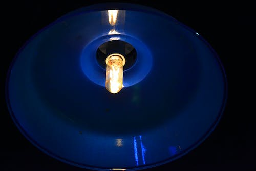 Free stock photo of blue lamp, lamp