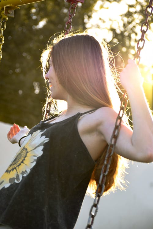 Free stock photo of blonde, blonde hair, colorful, daylight