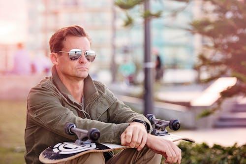 人, 休閒, 公園, 冷色調 的 免费素材照片