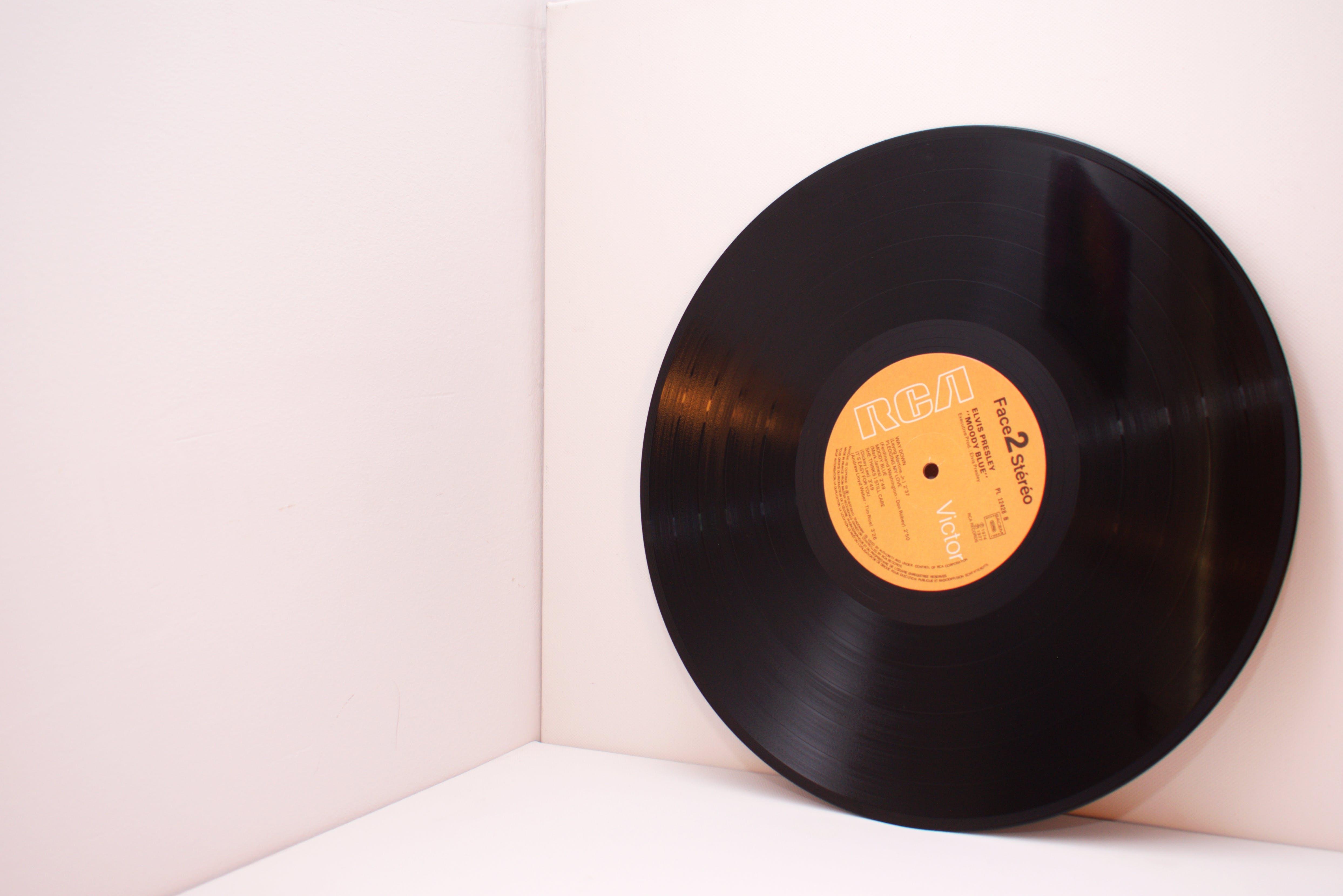 Closeup Photo of Rca Vinyl Record Disc