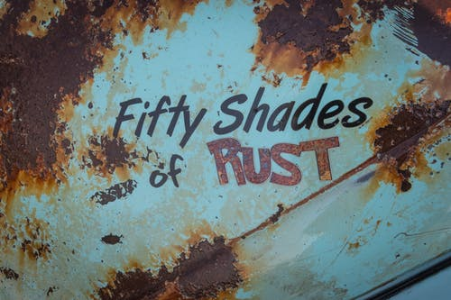 Fifty Shades of Rust-printed Cover