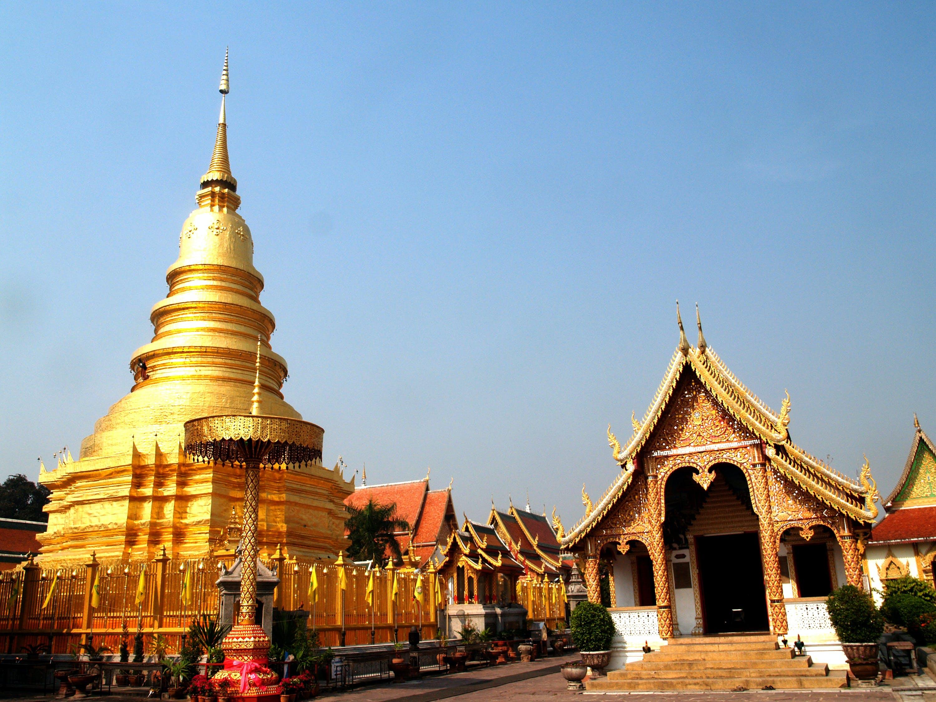 佛教, 佛教徒, 修道院, 地標 的 免費圖庫相片