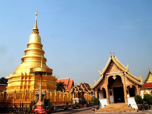 アジア, カルチャー, ゴールド, タイの無料の写真素材