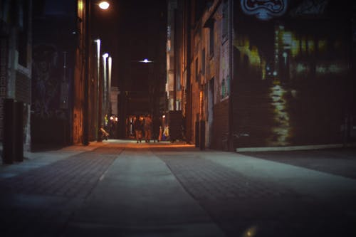 Free stock photo of night time