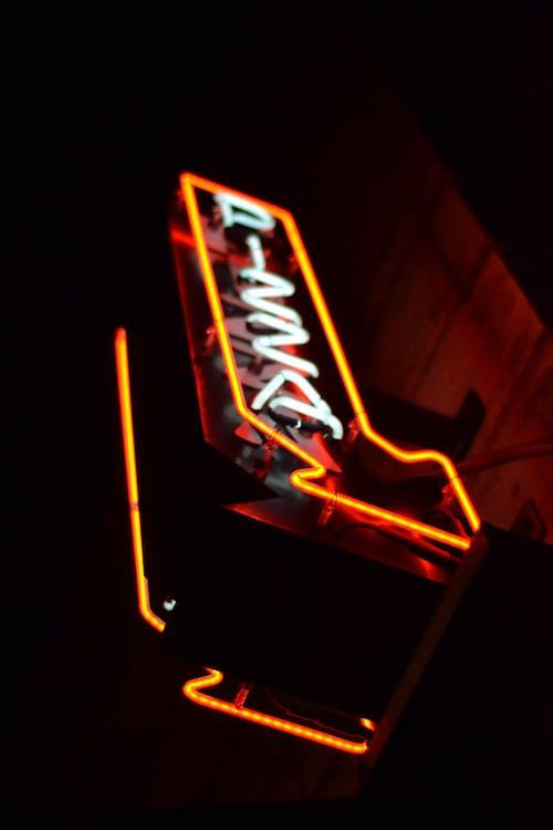 Kostnadsfri bild av ljus, lyskraft, neon, neonskylt