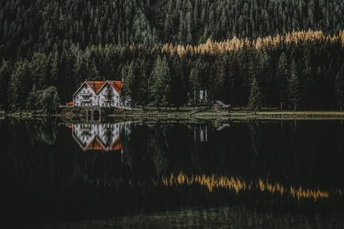 House Near Body of Water
