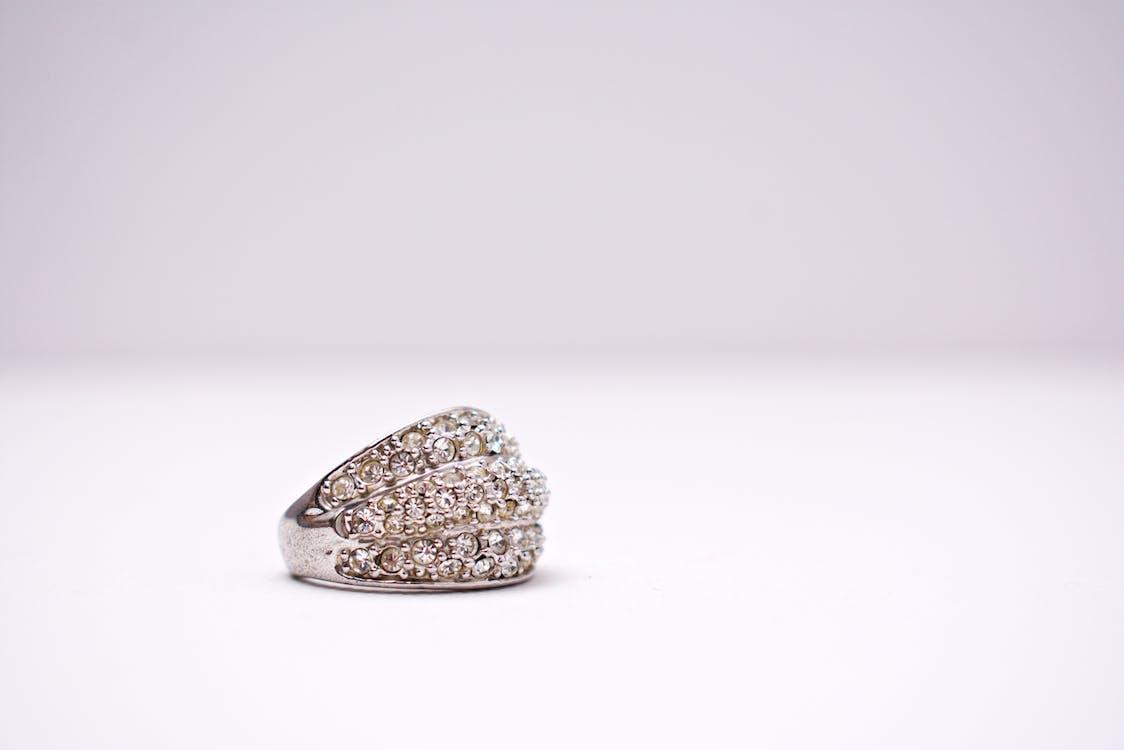 design, diamanter, ring