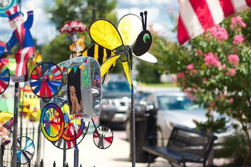 Foto profissional grátis de cheio de cor, colorido, jardim