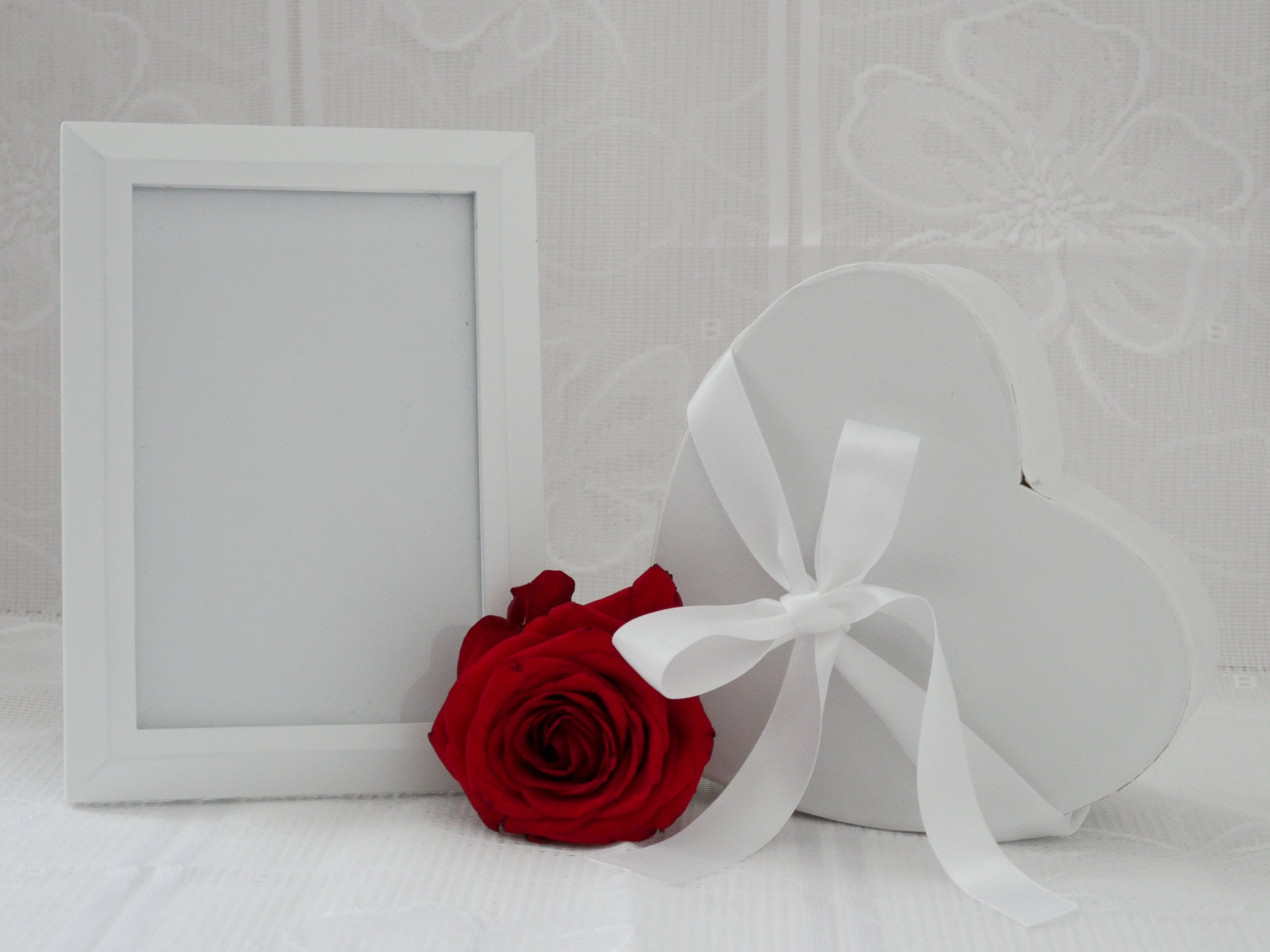 Free stock photo of decoration, heart, love, picture frame