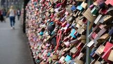 love, bridge, colorful