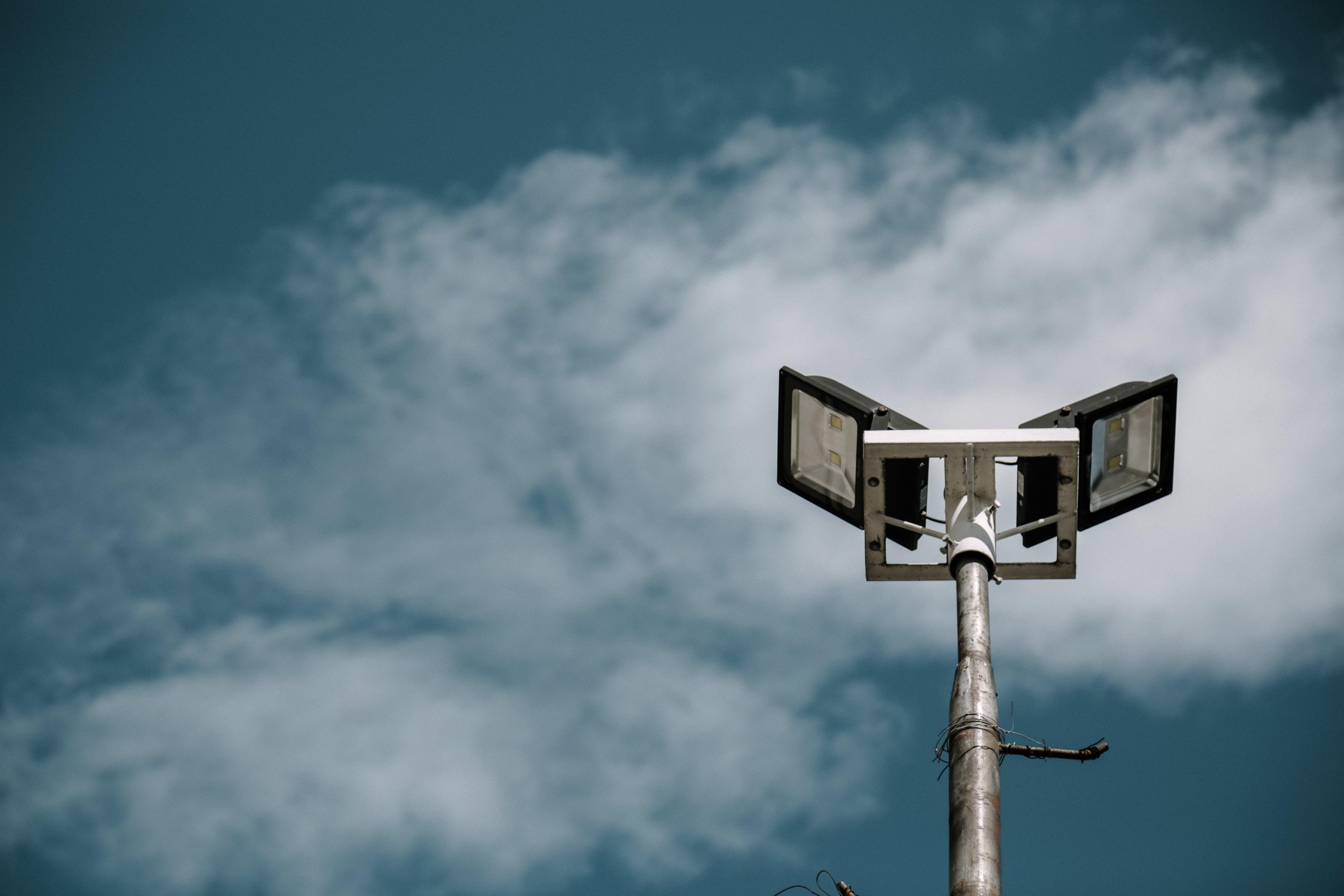 Imagine de stoc gratuită din cer albastru, nori