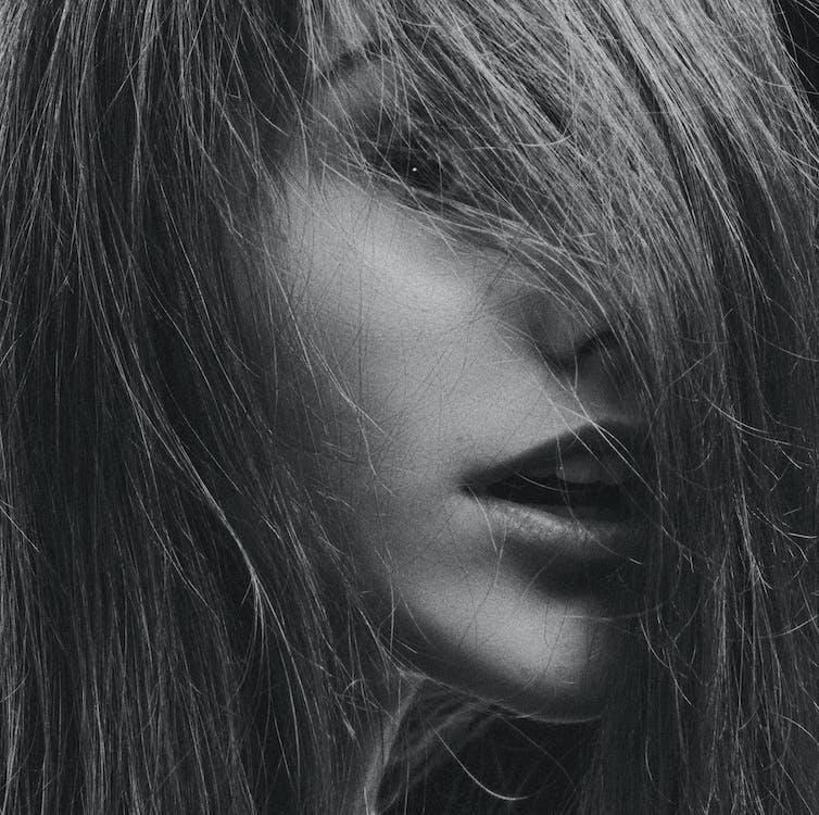 fotosession, hår, hud