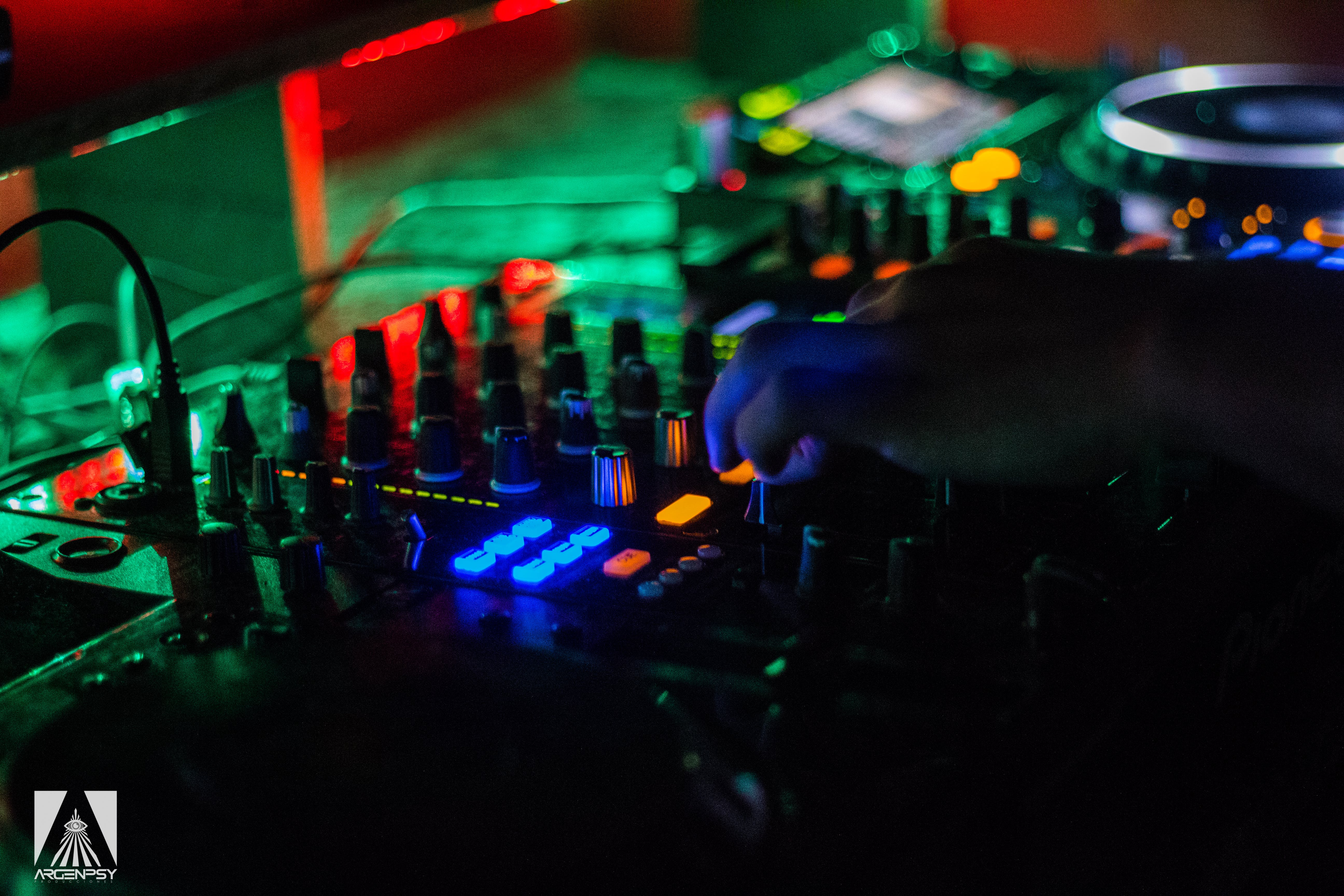 Free stock photo of controls, dj, pioneer, DJ Mixer