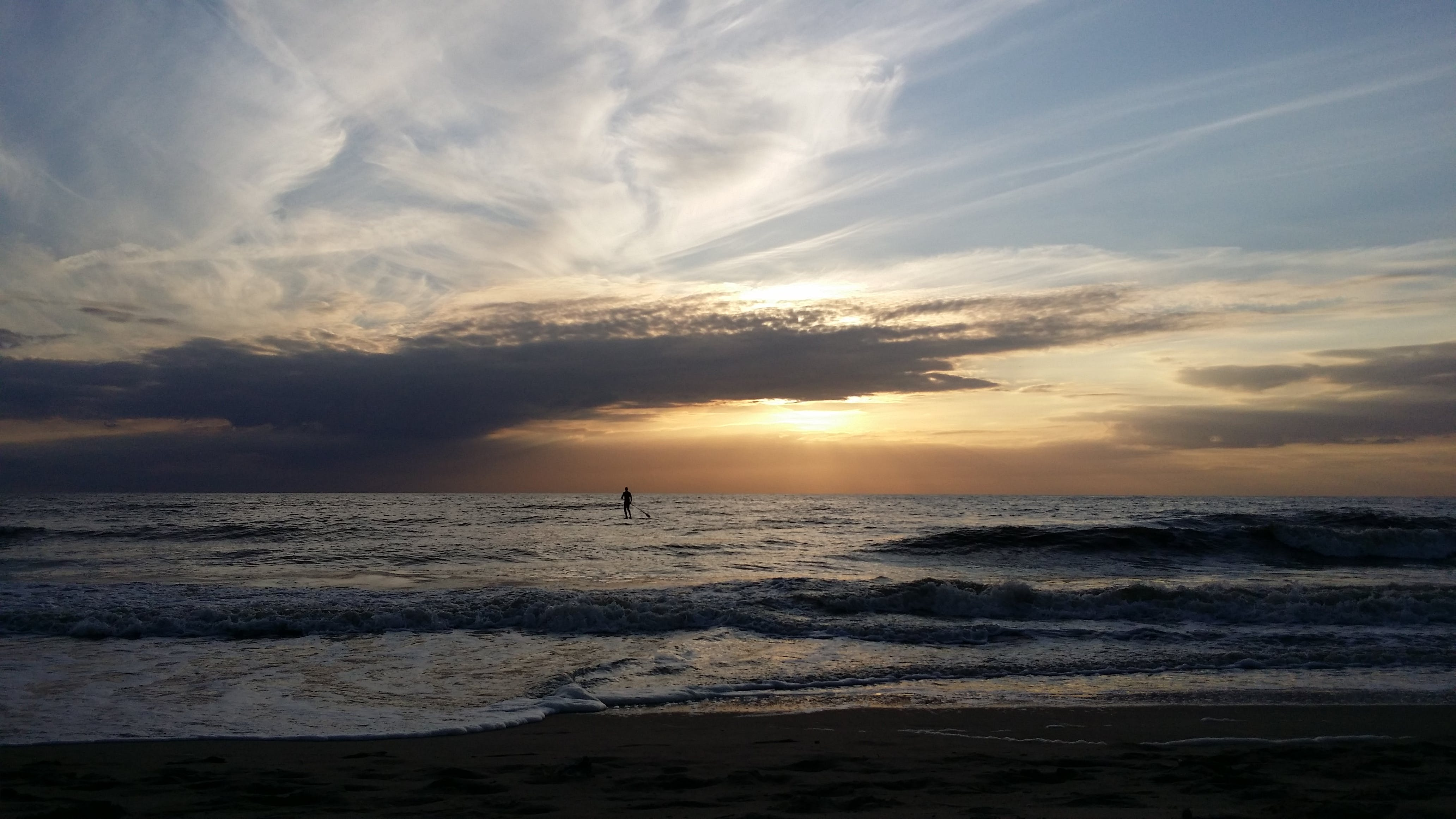 Free stock photo of beach, netherlands, romantic, sky