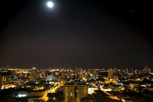 Fotos de stock gratuitas de ciudad, foz do iguaçu, noche, panorama urbano