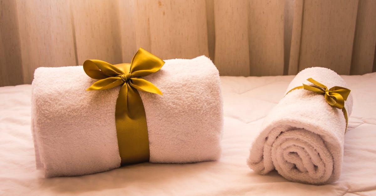 как красиво завязать полотенце в подарок фото самых качественных эффективных
