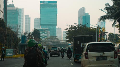 Foto d'estoc gratuïta de ciutat, estiu, jakarta, multitud