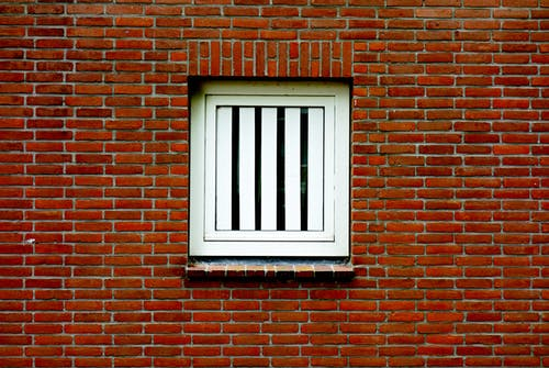 Free stock photo of house window, red brick, red brick wall, wall