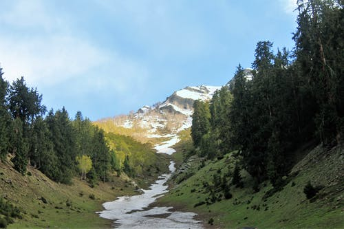 Darmowe zdjęcie z galerii z 15000 stóp, altutide, góra, szczyt