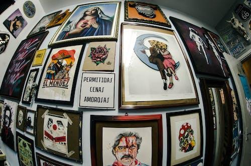 タトゥースタジオ, 入れ墨の無料の写真素材