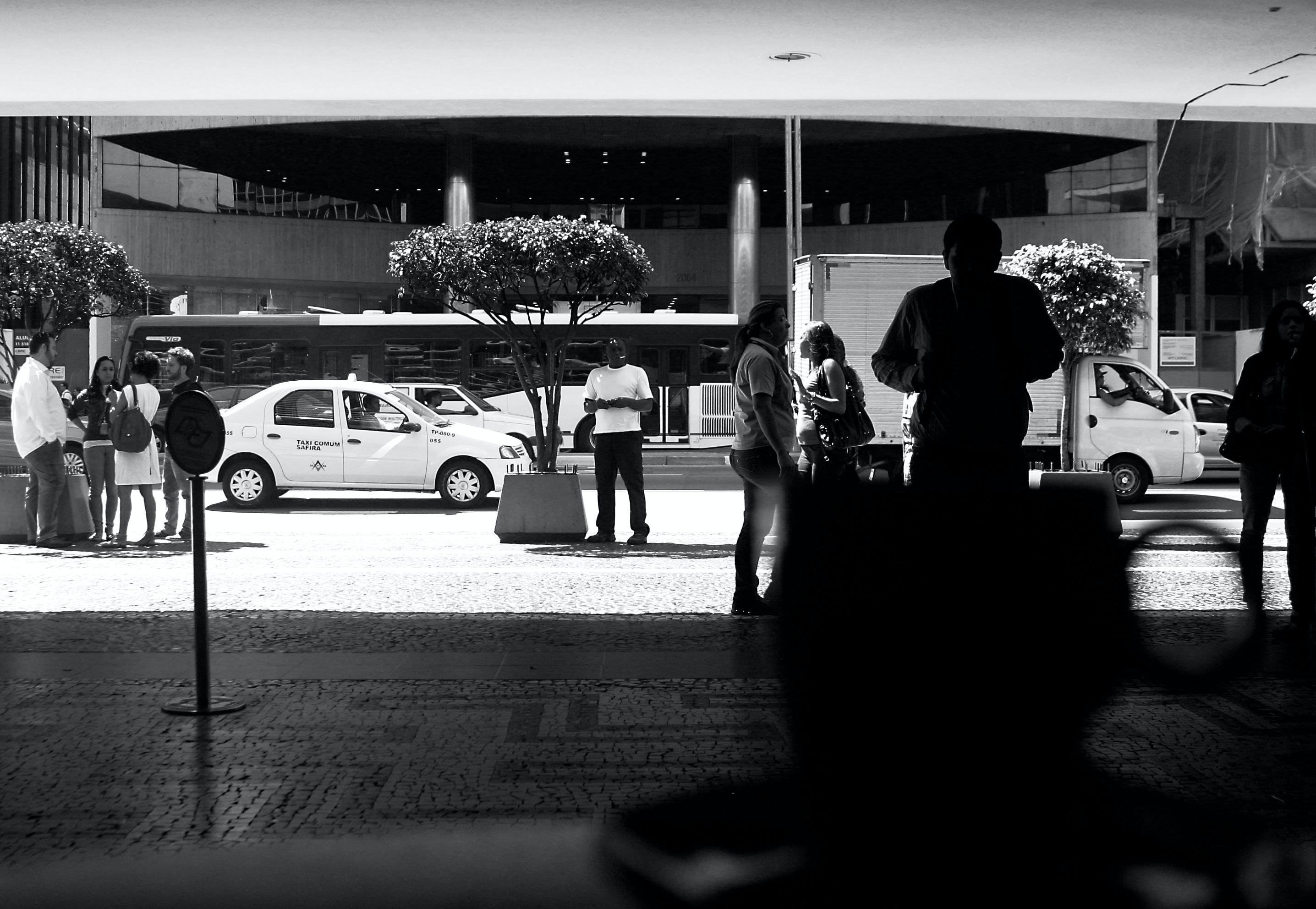 Free stock photo of black and white, bw, paulista, sao paulo