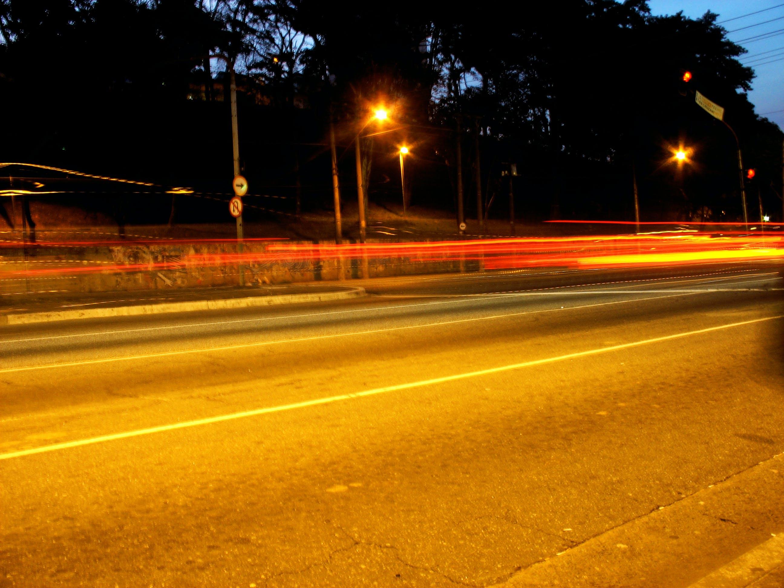 Free stock photo of car lights