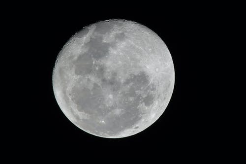 Free stock photo of moon