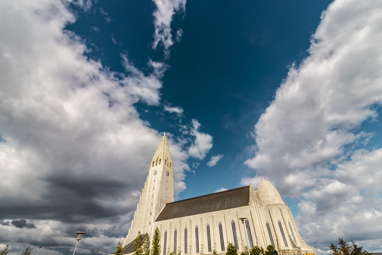Gratis lagerfoto af by, Island, kirke, kirkebygning
