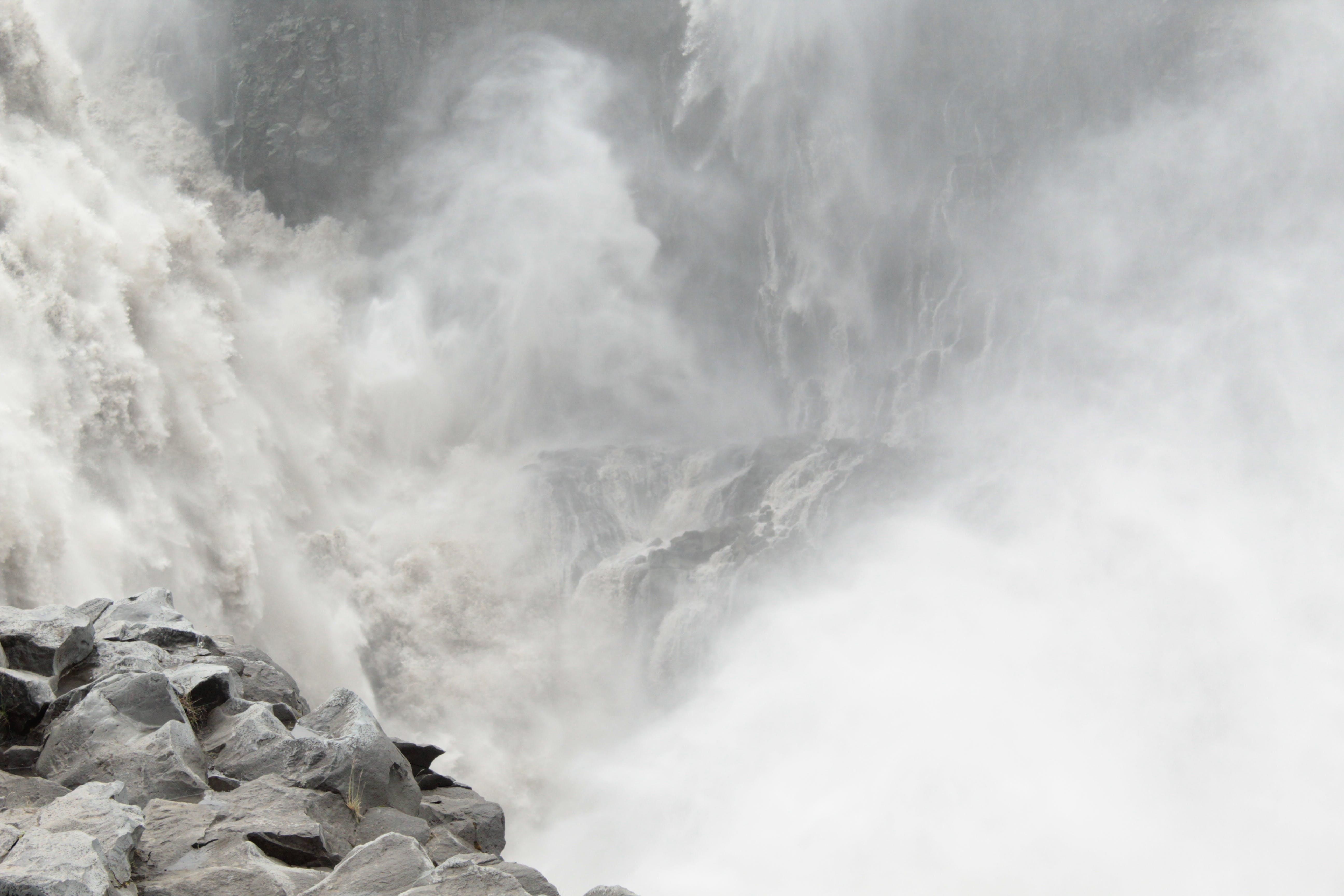 Free stock photo of iceland, power, water, waterfalls