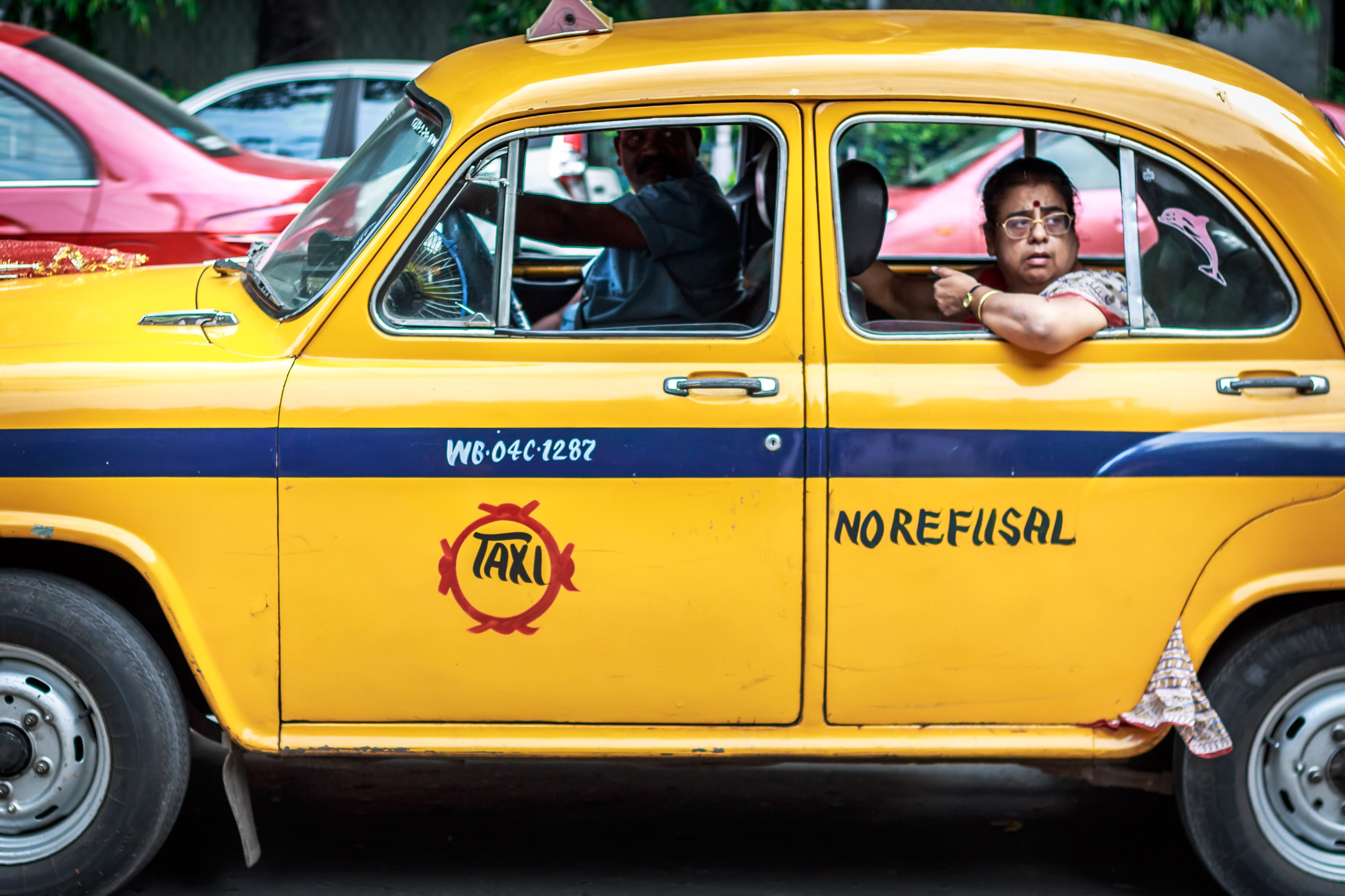 Free stock photo of india, Kolkata, roads, taxi