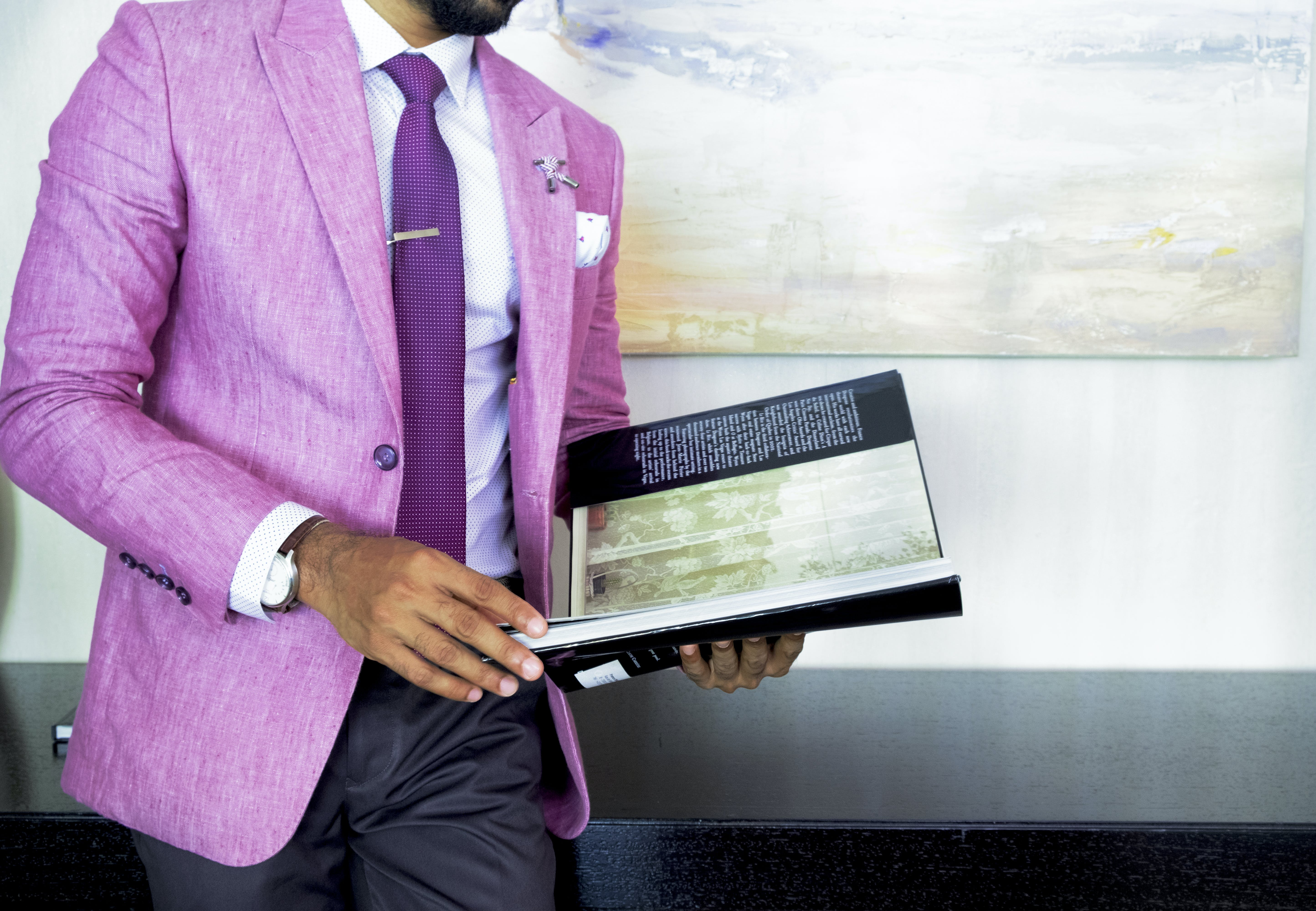 Free stock photo of suit, men, tie, book pages