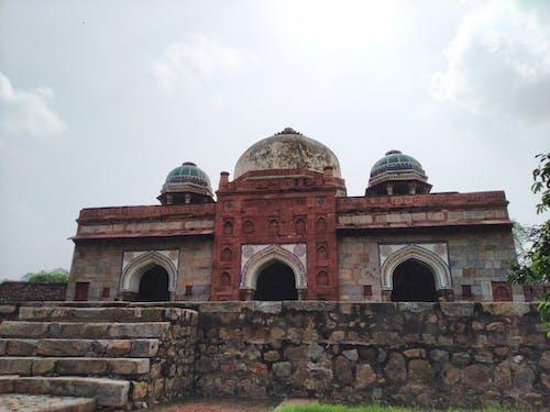 Бесплатное стоковое фото с дели, Историческое здание, моголов, надгробный памятник