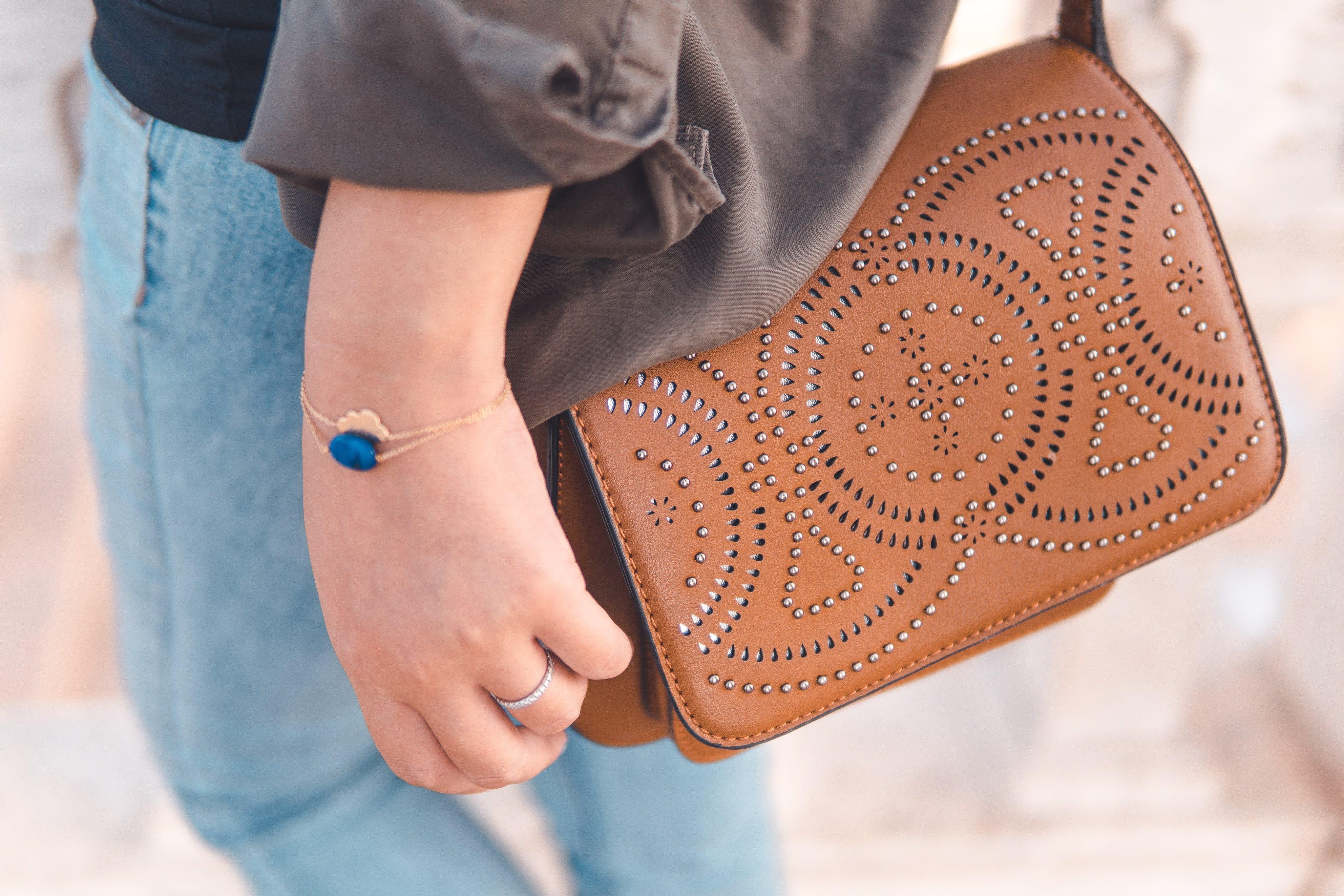 Woman With Brown Bag