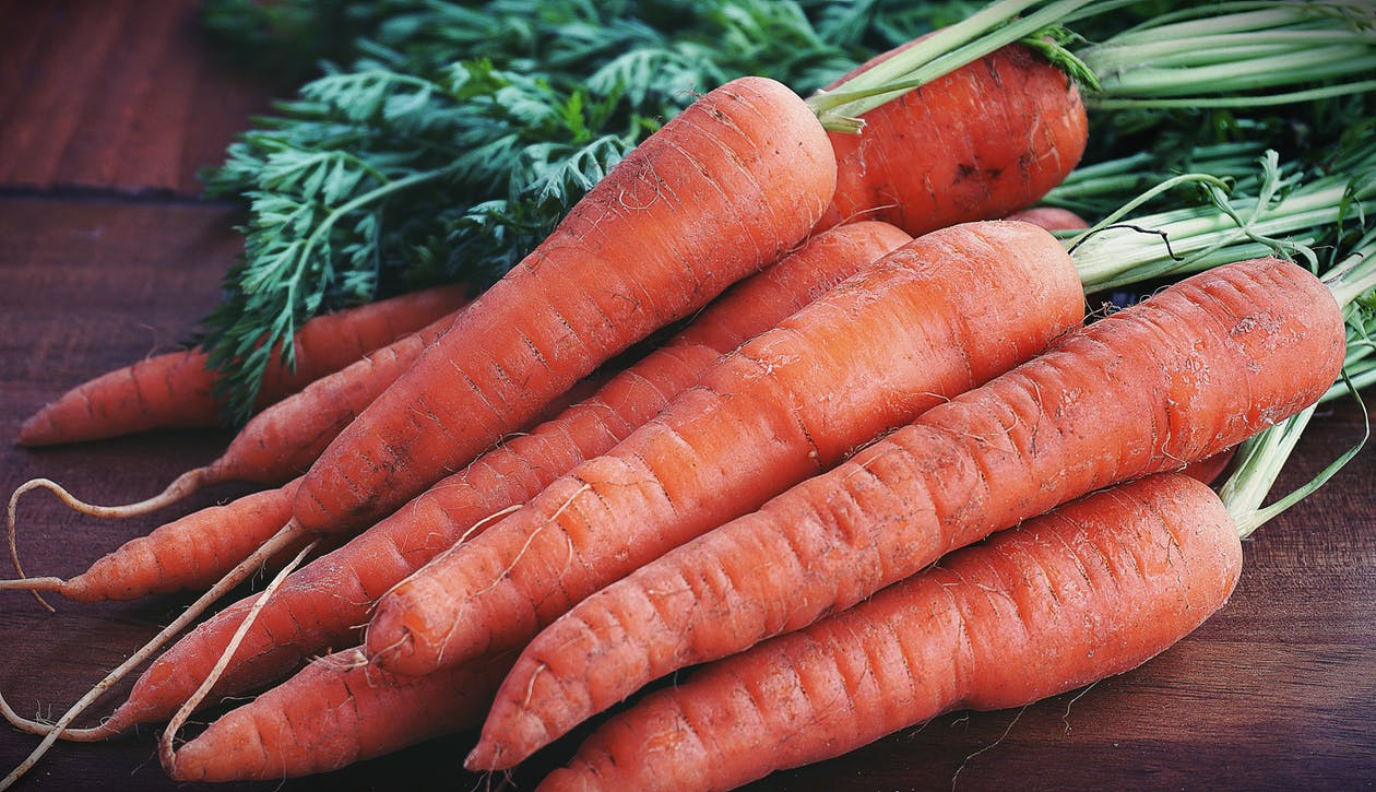 Close-up Photography of Orange Carrots