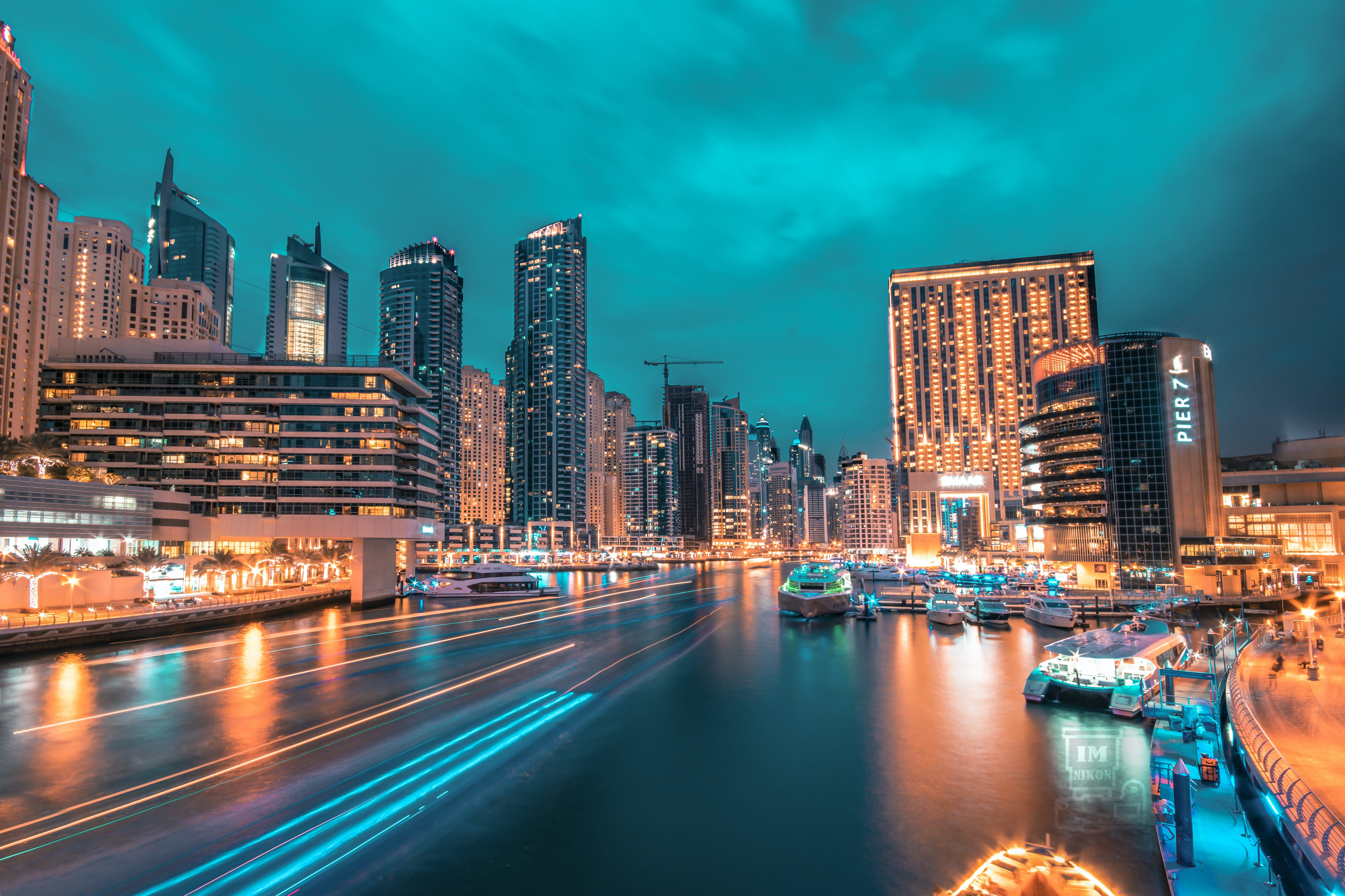 Time Lapse Photography of Road With High-rise Buildings