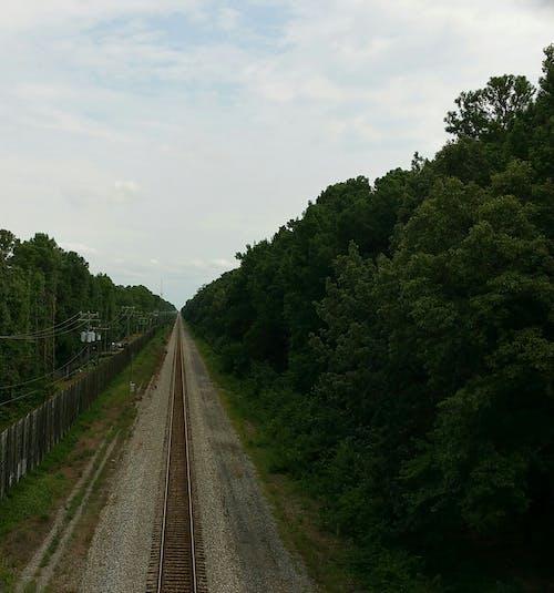 Free stock photo of railroad