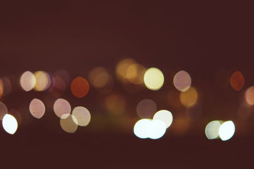 Multicolored Bokeh Lights Wallpaper