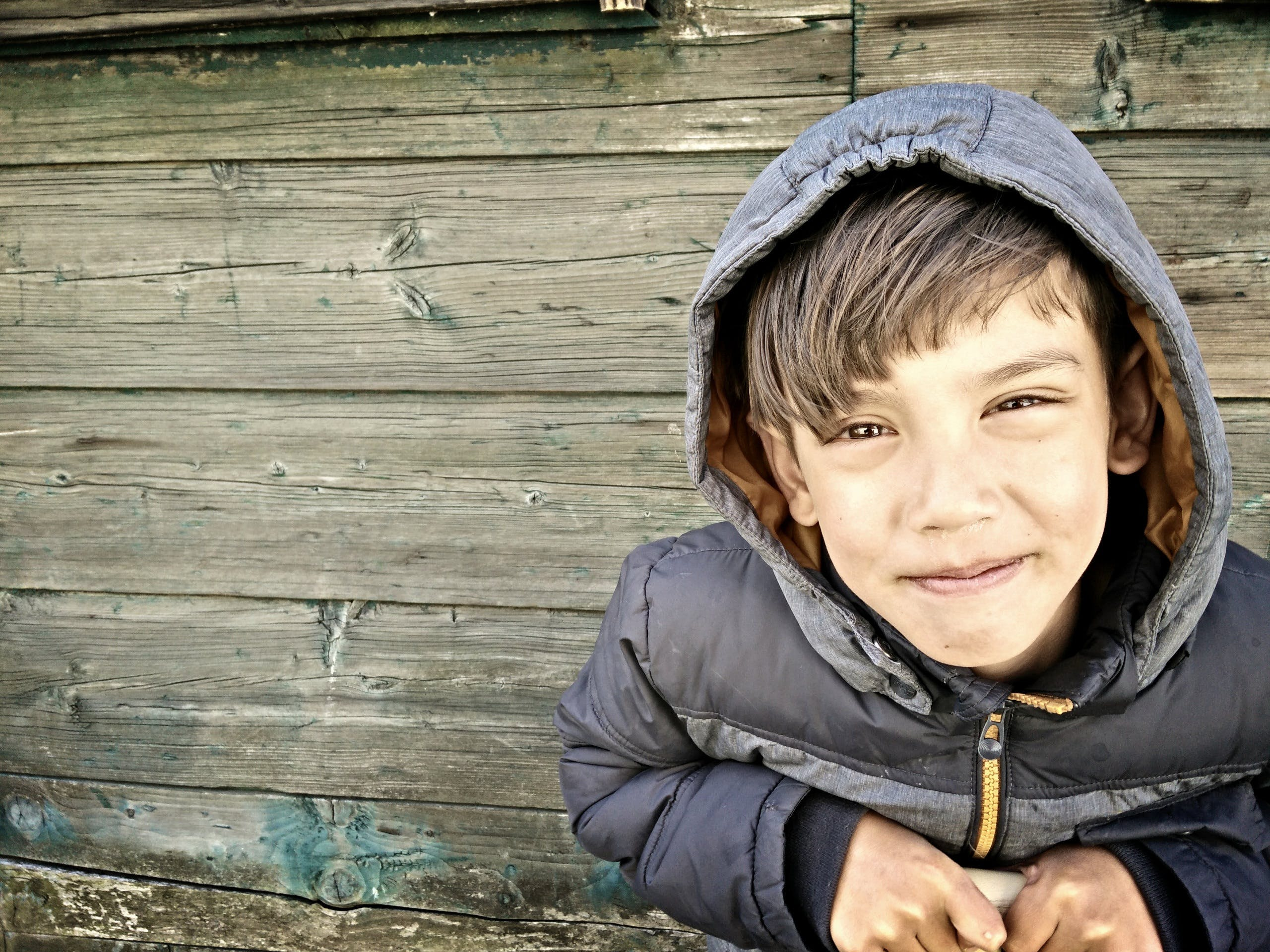 Free stock photo of boy, hdr, wooden