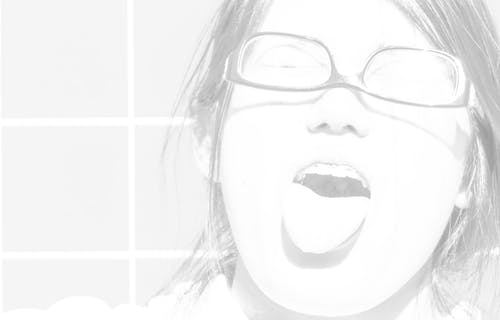 Kostnadsfri bild av rolig, svartvitt, tunga