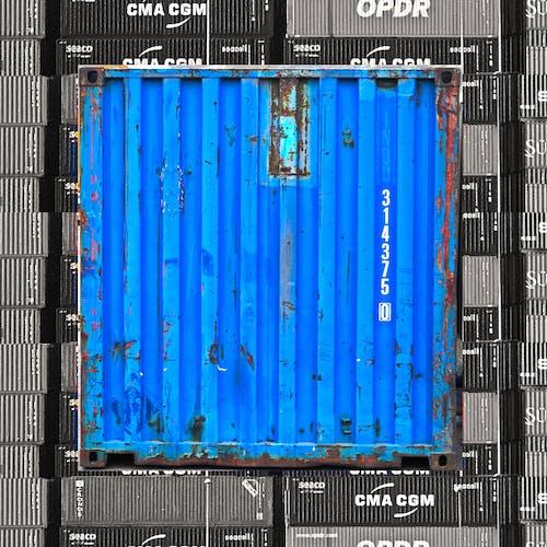容器, 貨物コンテナの無料の写真素材