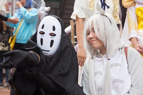 Бесплатное стоковое фото с азиаты, выражение лица, дневной свет, костюмы