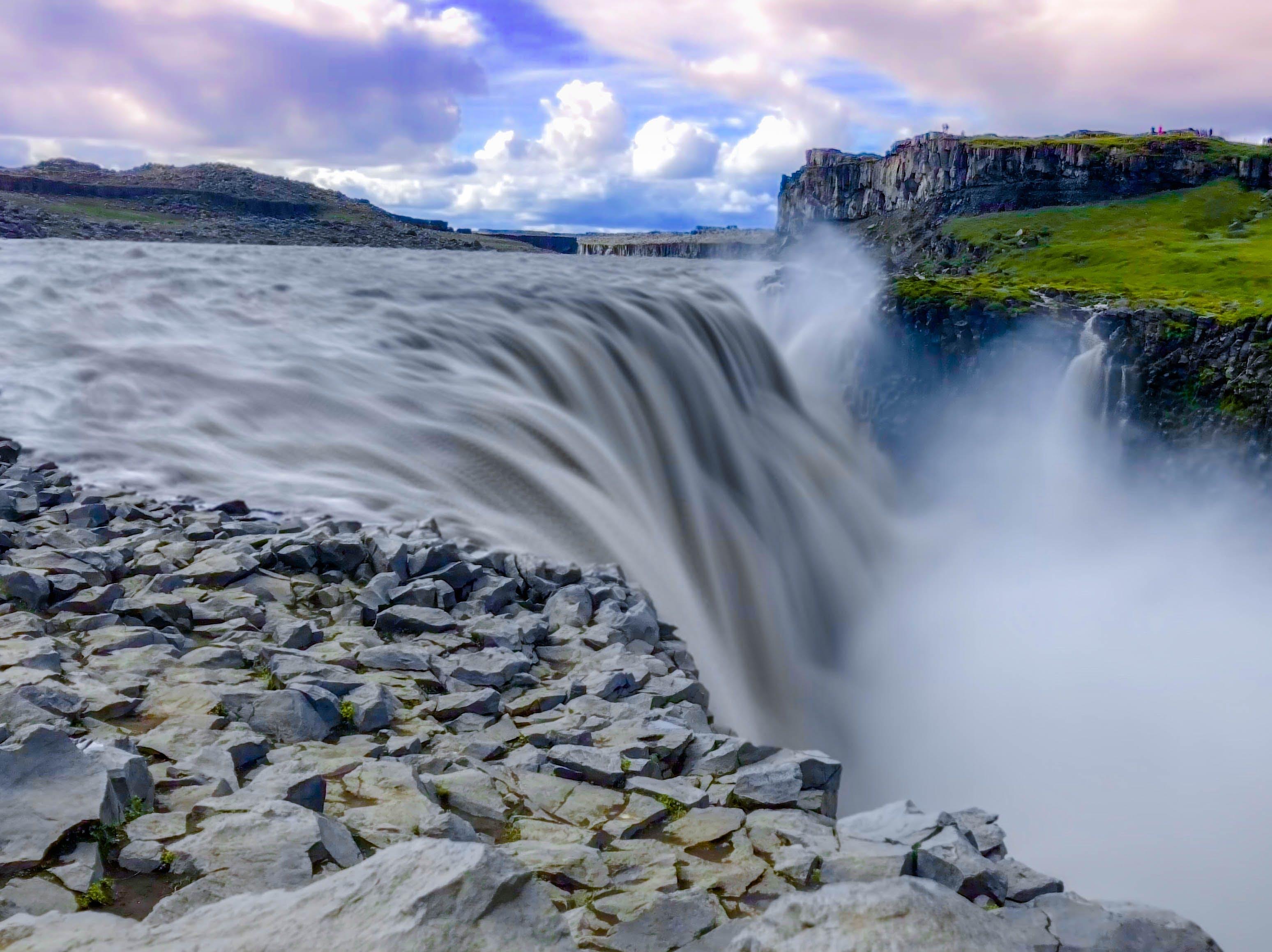 Gratis lagerfoto af dettifoss, himmel, Island, naturudsigt