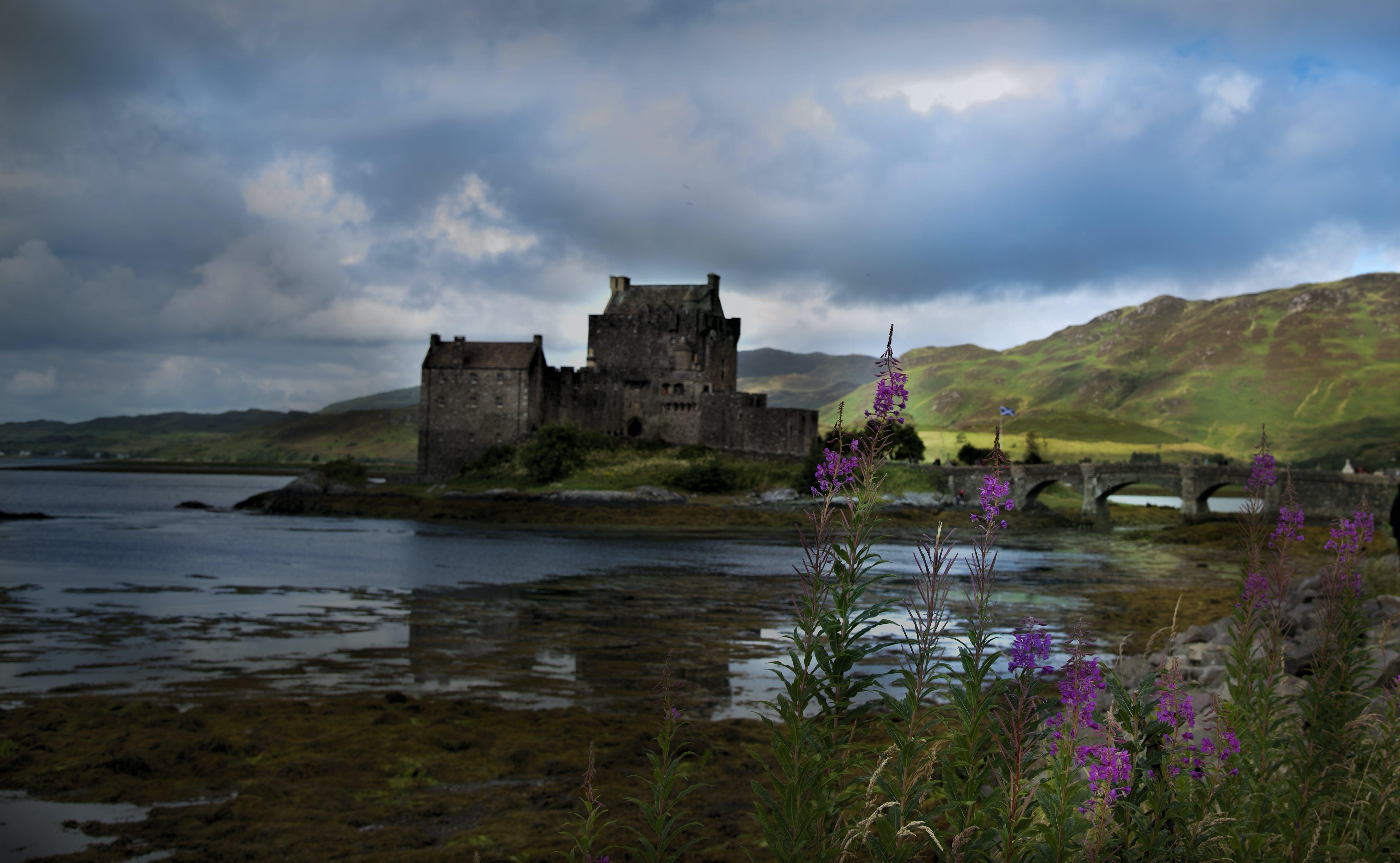 Free stock photo of castle, nature, scotland