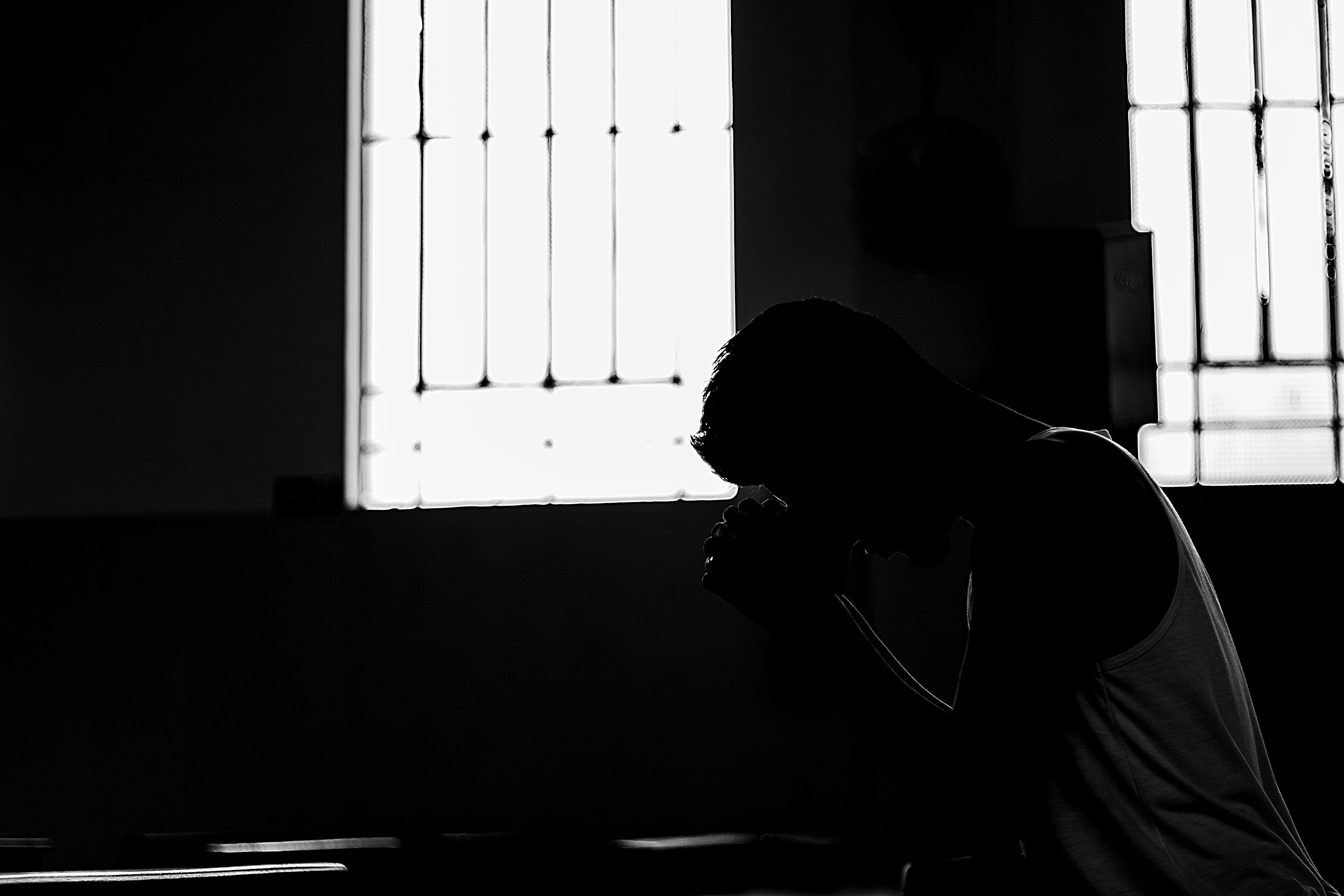 Free stock photo of man, pray