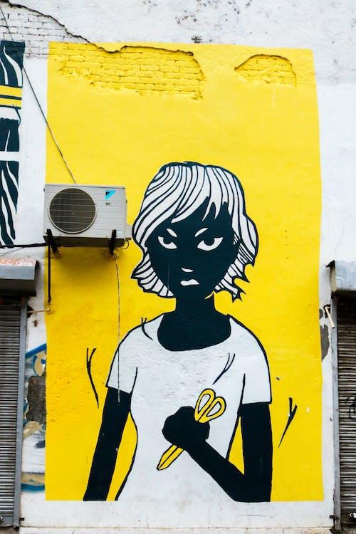 barva, design, graffiti