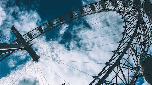 Základová fotografie zdarma na téma karneval, London Eye, Londýn, nejvyšší