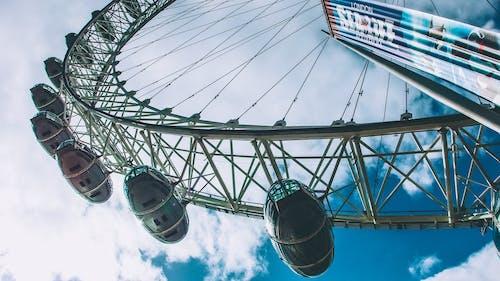 Základová fotografie zdarma na téma karneval, kolo, London Eye, Londýn